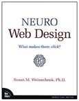 Neuro Web Design by Susan M. Weinschenk, Ph.D.