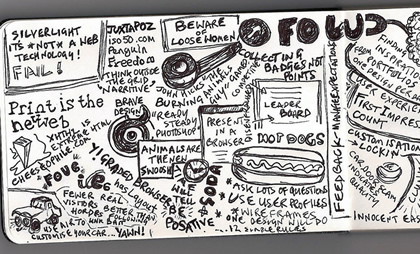 Paul Downey's notes from the Future of Web Design 2008