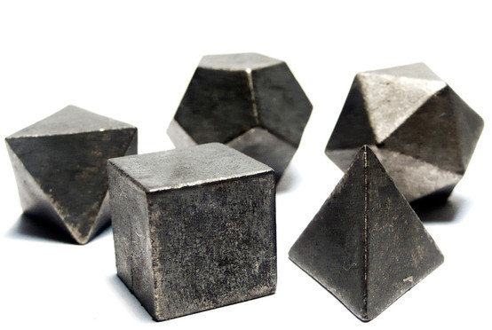 Platonic Solids from Occulter